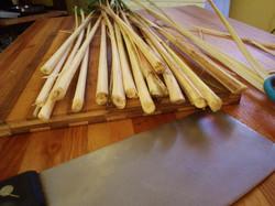 Preparing Lemongrass