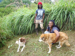 Pam & Vusi with Quincy & My Girl