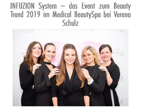 INFUZION Event im Medical BeautySpa bei Verena Schulz