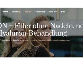 Tanja Bülter & Infuzion bei NatureSkinConcept