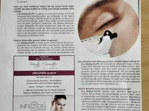 Beauty Cosmetics by Eva Mateja-Krafft: INFUZION die Anti-Aging Sensation