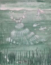 _Flotsam,_ acrylic on panel. 14_ x 11_