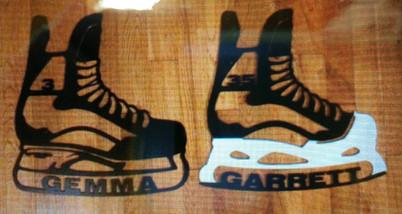 Custom Hockey Skates