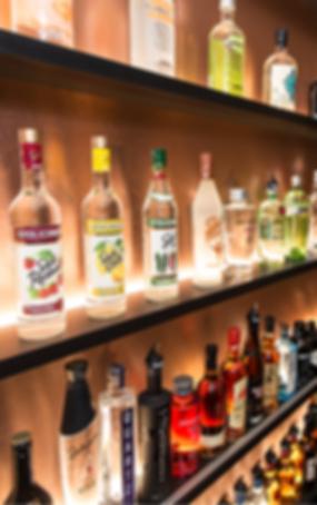 cocktails, gin, vodka, alcools