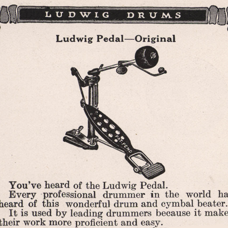EP 95 - The History of Ludwig Bass Drum Pedals with Steve Zemanek