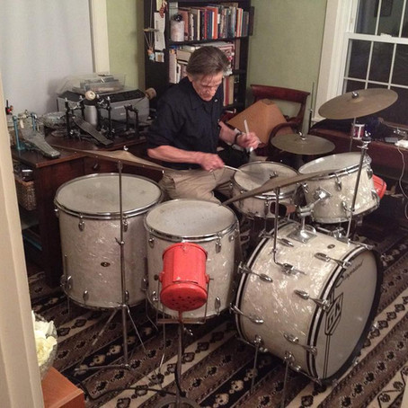 EP 14 - Discovering Gene Krupa's Lost Drum Collection with Brooks Tegler