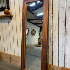 Mirror /walnut 1340×490 mm(外寸)No.3  ¥35,860-(inTax)