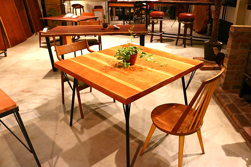 tino syle B.cherry dining table/W1000×D1000 T43mm