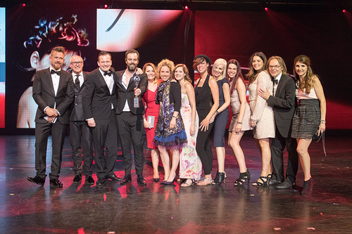 Winnaar Coiffure team award 2017!