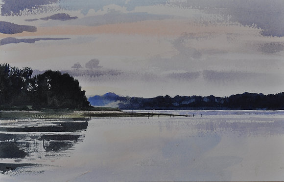 Calm Evening, Bradfield Shore  - SOLD
