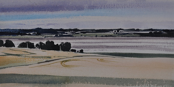 Summer Evening, Stour Estuary - SOLD