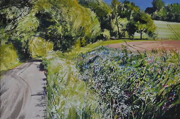 Road to Dedham, Early Summer - SOLD