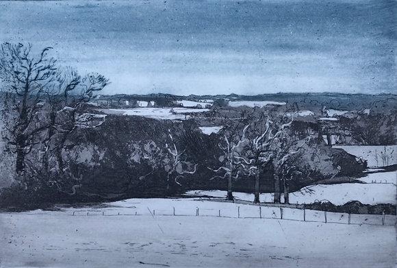 Dedham Vale in Winter