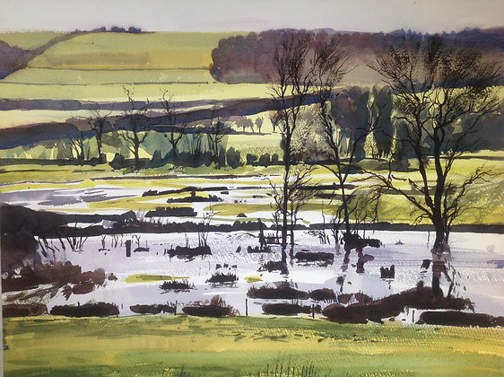 Floodwaters, Marlborough - SOLD