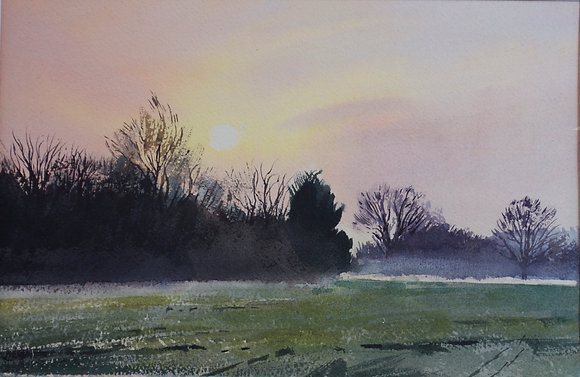 Early Morning Mist - SOLD