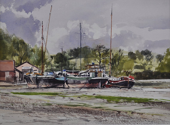 Pin Mill Barges - SOLD
