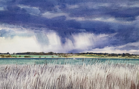 Summer Rain, Stour Estuary