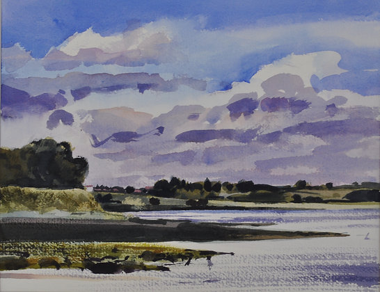 Wrabness, Bright Summer Afternoon SOLD