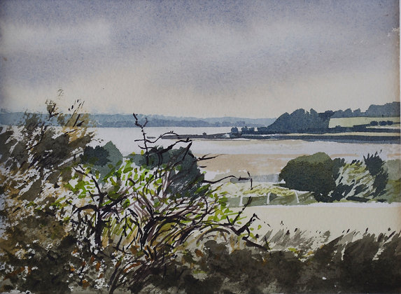 Towards Harwich from Bradfield - SOLD
