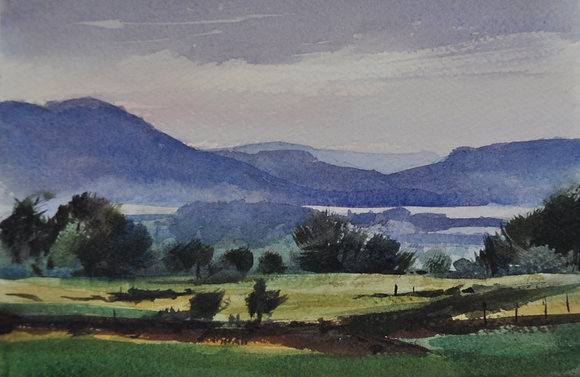 Towards Skiddaw, northern lakes - SOLD