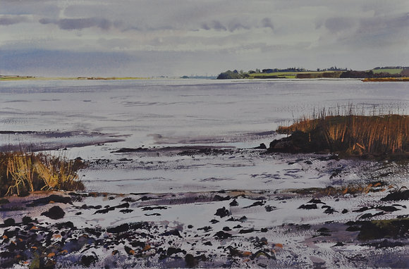 Stour Estuary, Low Tide - SOLD