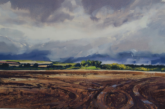 Storm Coming, Marlborough Ridgeway