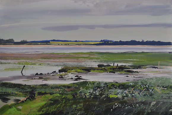Wrabness, Low Tide - SOLD