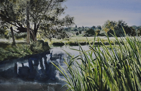 A Bend in the River, Flatford