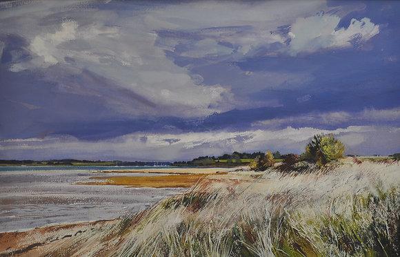September Storm, Bradfield Beach - SOLD