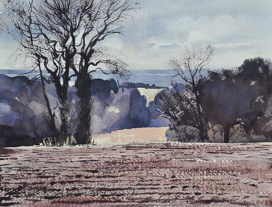 The Stour from Stutton - SOLD