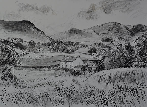 White House in the Cumbrian Hills, Uldale