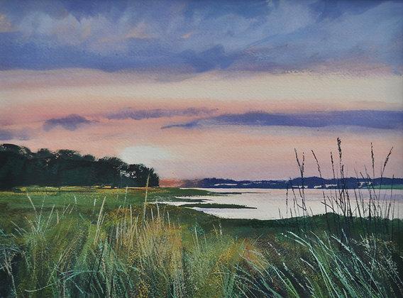 Sunset, Bradfield Shore