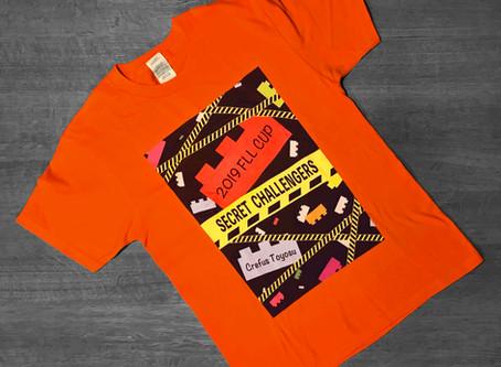 大会用Tシャツデザイン