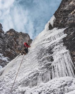 Eisklettern Hochschwab/Austria