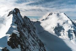 Nadelhorn und Dom/Schweiz
