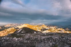 Gewitter überm  Hochschwab/Austria
