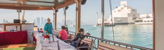 sightseeing Doha Qatar cruise