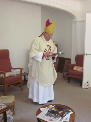 Blessing the Common Room