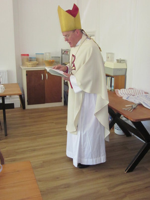 Blessing the Refectory