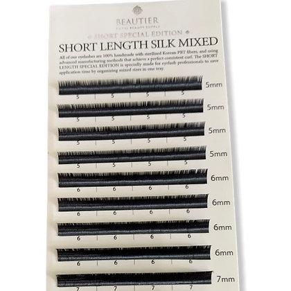 Short Length Silk Mixtas