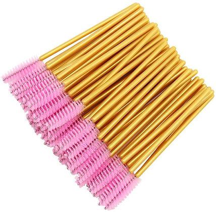 Eyelash Brush 50 pzs color sujeto a disponibilidad