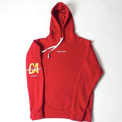 Legacy Hoodie-Crimson Red