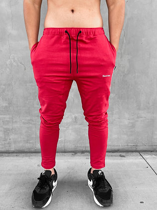 Limit Core Joggers-Rory Red