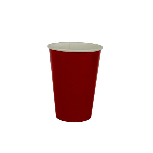 copo 180 ml vermelho liso
