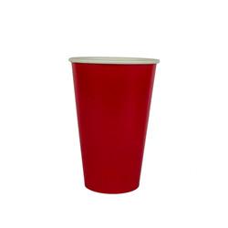 copo 500 ml vermelho liso