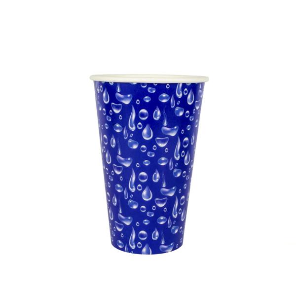 copo 500 ml azul gotas