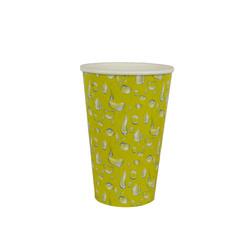 copo 300 ml amarelo gotas