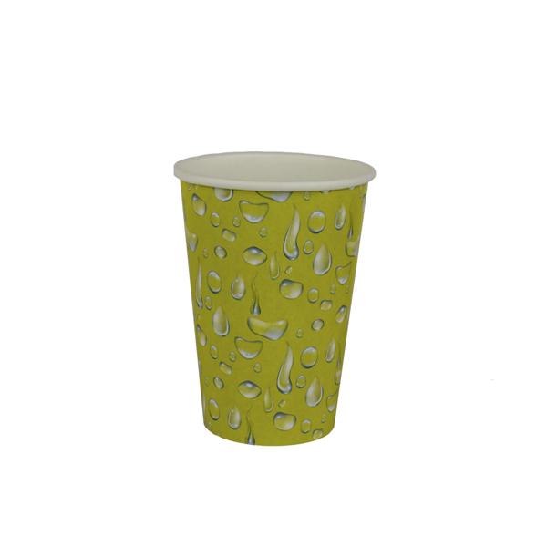copo 180 ml amarelo gotas