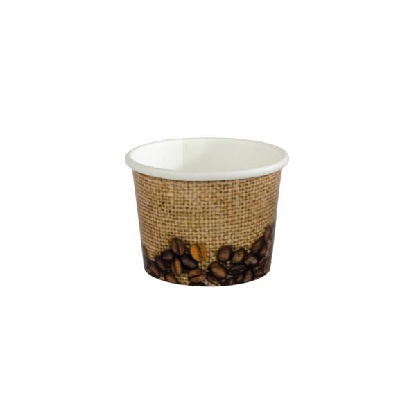 copo 50 ml grão sobre sisal
