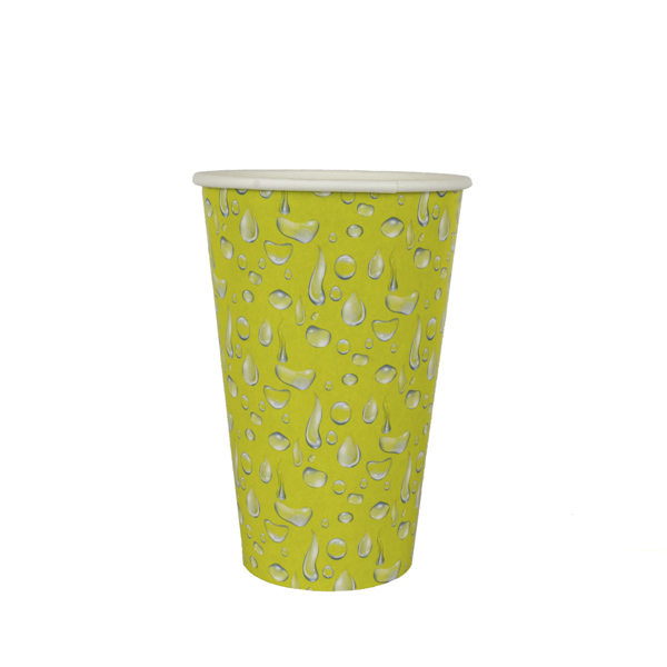 copo 500 ml amarelo gotas